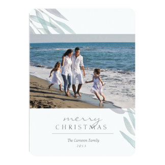Holiday Sage 13 Cm X 18 Cm Invitation Card
