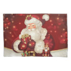 Holiday Santa Pillowcase