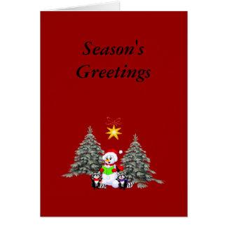 Holiday Scene Greeting Card