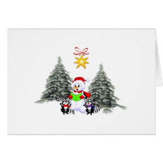Holiday Scene Stationery Note Card