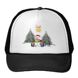 Holiday Scene Hats
