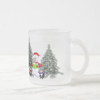 Holiday Scene Coffee Mugs