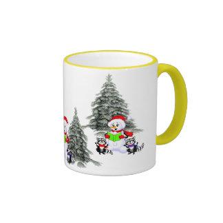 Holiday Scene Mugs