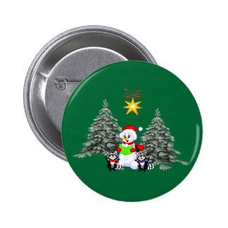 Holiday Scene Pin