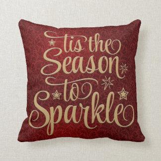 Holiday Season Throw Pillow