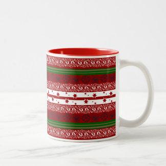 Holiday Seasons Mug Two-Tone Mug