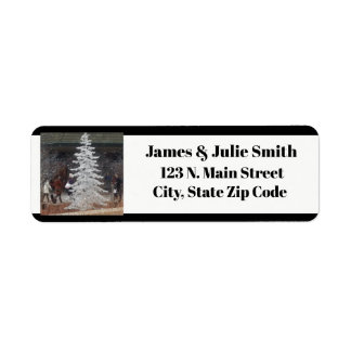 Holiday Shoppers Return Address Label