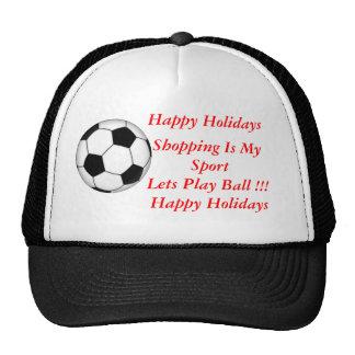 Holiday Shopping Mesh Hat