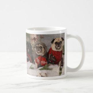 Holiday Skating Party Pug Mug