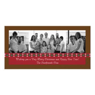 Holiday Snowflake Photo Card