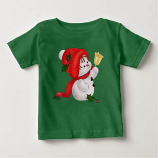 Holiday Snowman Baby T-Shirt