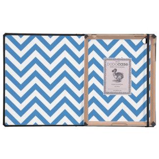 Holiday Spirit (blue) iPad Case