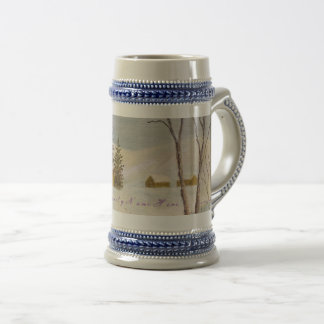 Holiday Spirit Mug, Stein for Personalization
