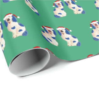 Holiday Staffordshire Dogs by Redux121DesignStudio Wrapping Paper