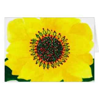 Holiday Sunflower Christmas Card