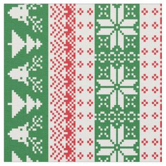 Holiday Sweater Pattern Fabric