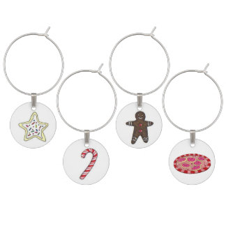 Holiday Sweets Wine Charms