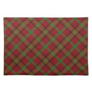 Holiday Traditional Christmas Tartan Pattern Placemat