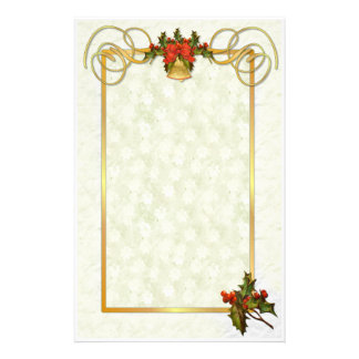 Holiday Traditions 2 Customized Stationery