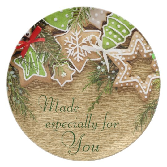 Holiday Treats Gift Plate