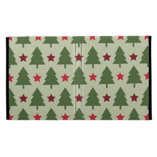 Holiday Tree Christmas iPad Cover iPad Folio Cover