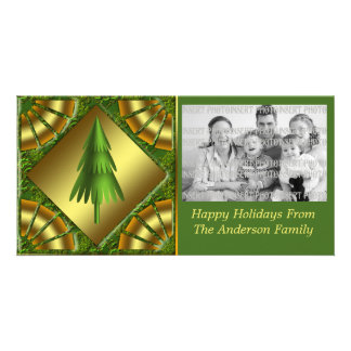 Holiday Tree Christmas Photo Card