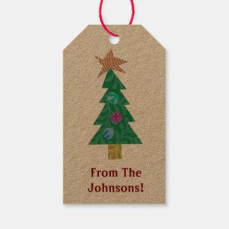 Holiday Tree Gift Tags