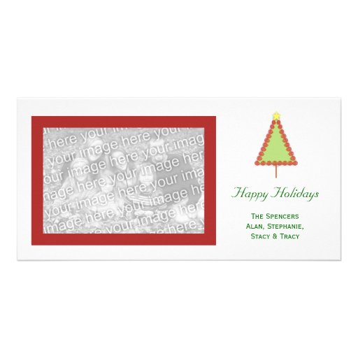 Holiday Tree Picture Card