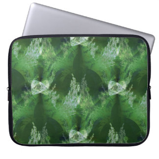 Holiday trees from another galaxy... laptop sleeve