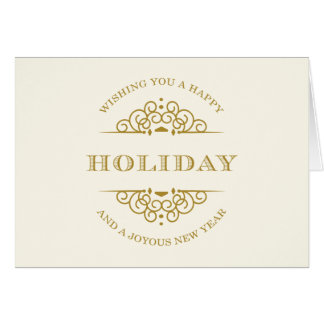 HOLIDAY VINTAGE | HOLIDAY GREETING CARD