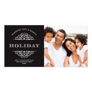 HOLIDAY VINTAGE HOLIDAY PHOTO CARD