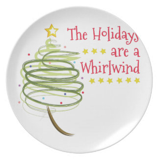 Holiday Whirlwind Plate