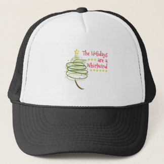 Holiday Whirlwind Trucker Hat