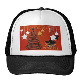 Holiday Winter Happy Family Friends Destiny Season Mesh Hat