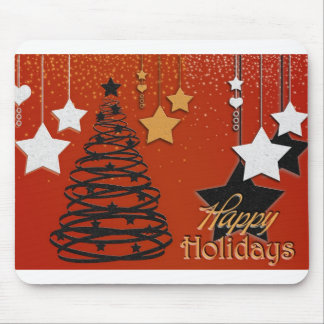 Holiday Winter Happy Family Friends Destiny Season Mouse Pads