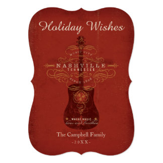 Holiday Wishes from Nashville Card