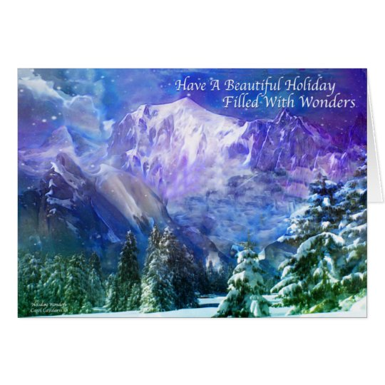 Holiday Wonders Greeting Card