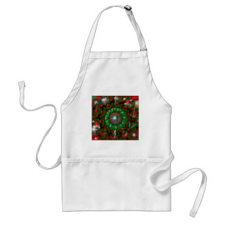 Holiday Wreath Adult Apron