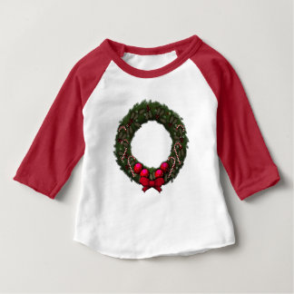 Holiday Wreath Baby T-Shirt