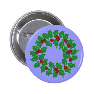 Holiday Wreath Pin