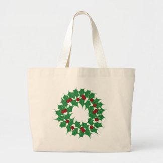 Holiday Wreath Bag