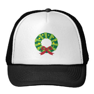 Holiday Wreath Hats