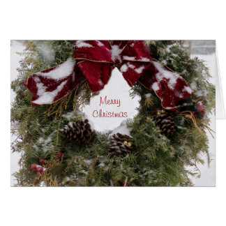 Holiday Wreath Greeting Cards