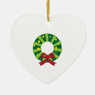 Holiday Wreath Ornaments