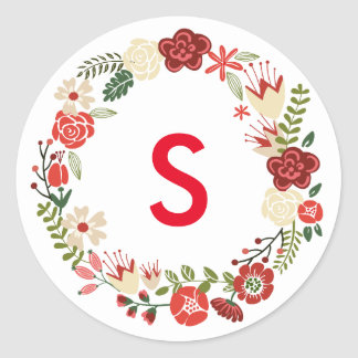 Holiday Wreath | Holiday Stickers