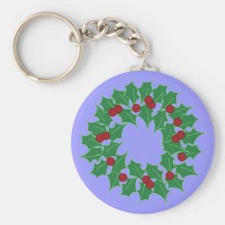 Holiday Wreath Key Chain