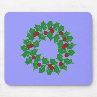 Holiday Wreath Mouse Pad