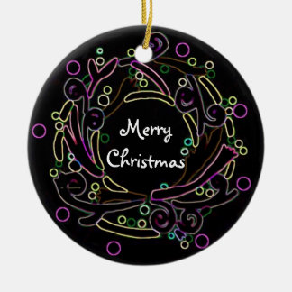 Holiday Wreath Personalized Ornament