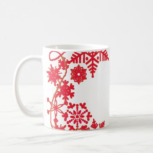 Holiday Wreath Red Mug