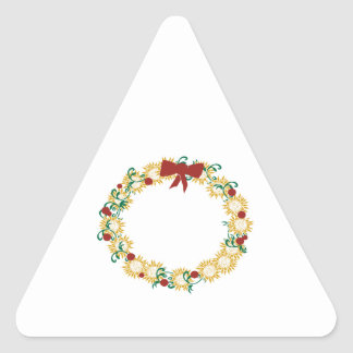 Holiday Wreath Stickers